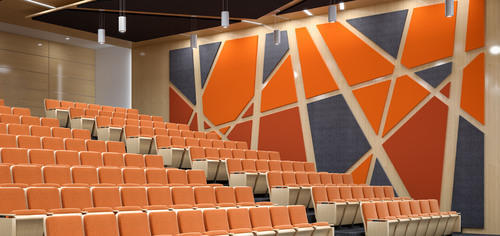 Acoustic Wall Panel Acoustics Services For Auditorium