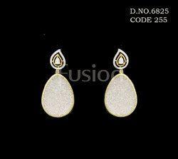 American Diamond Chandelier Earrings
