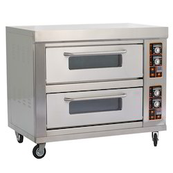 Double Deck Bakery Pizza Oven