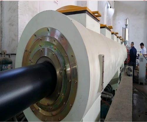 HDPE Large Diameter Pipe Making Machine Line, 600-900 Watt, Rs 3000000 /set  | ID: 14923505112
