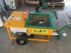 Lino Sella Automatic Plastering Machine, Capacity: 5.5 meter