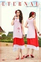 Designer Party Wear Georgette Nd Rayon Kurti