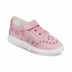 Girls Pink Casual Shoes