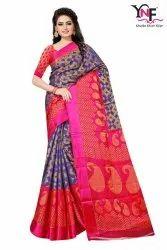 Cotton Silk Brasso Vol 1 Tapadiya Brasso Satin Printed Saree