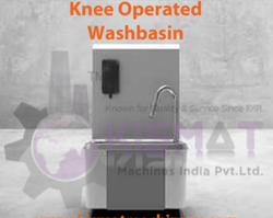 Knee Operated Washbasin / Sink