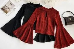 Zadine Imported Crop Top For Women