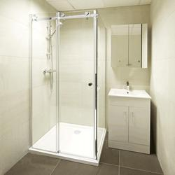 Bathroom Glass Partition Chandigarh