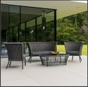 Rope Outdoor Sofa Lounge Woven Rope Outdoor Furniture