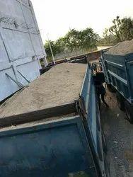 White Bajri Truck Sand