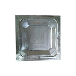Aluminium Square Plastic Mould Die, Packaging Type: Box