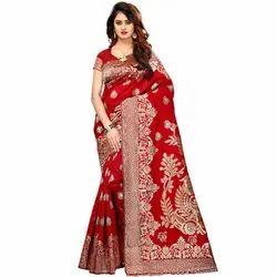 Ladies Designer Jacquard Silk Saree