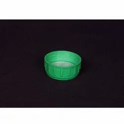 Green Pp 52 mm Plastic Cap, For Bottle Packaging