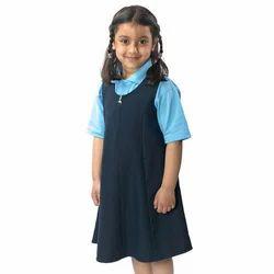 夏季女孩皮娜学校制服