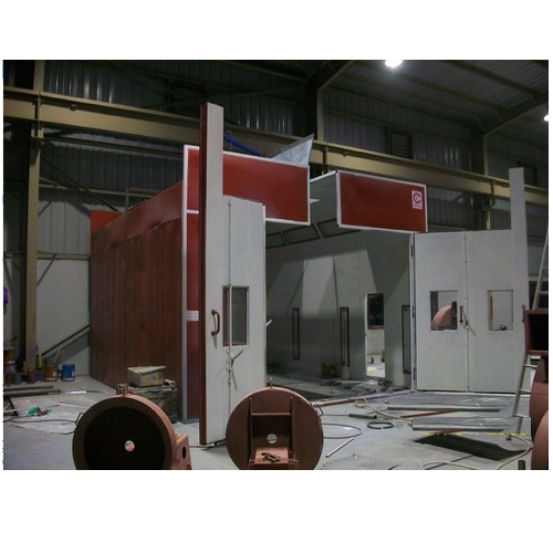 Industrial Wet Paint Booth