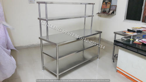 Commercial Kitchen Working Table at Rs 14500 /piece | Stainless ...