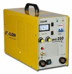 GB AND RILON available in both single and three phase GB KOREARC MIG 200 Welding Machine, Model Number/Name: Mig 250