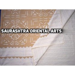 Applique Work Colored Kantha Bed Covers