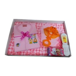 Cotton Casual Wear Kids Printed Baba Suit