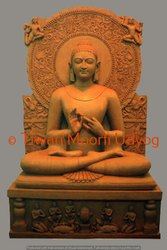 Sand Stone Buddha Statue