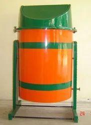 FRP Pole Mounted Dustbin