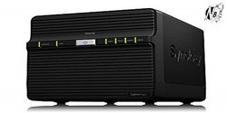 Synology DiskStation DS418J NAS Drive (Black)