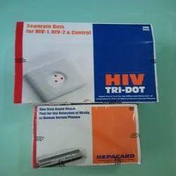 Testing Kit Plastic HIV TRIDOT 200 Test, For Hospital