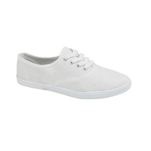 Daily Wear White unisex Canvas Shoes