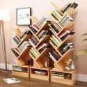 Plotted Book Rack