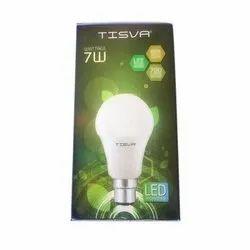 Cool Daylight 7W Tisva Ceramic LED Bulb