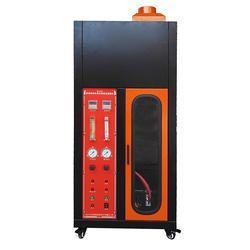 Single Cable Flame Retardancy Apparatus