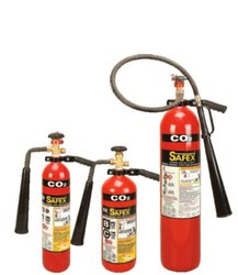 Safex Wheel Type C02 Fire Extinguishers- 2 kg