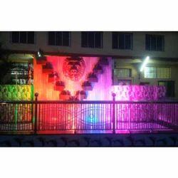 Rock Stand Multicolor Programmable Fountain