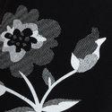 Ladies Black White Flower Printed Leggings