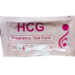 HCG Pregnancy Test Card