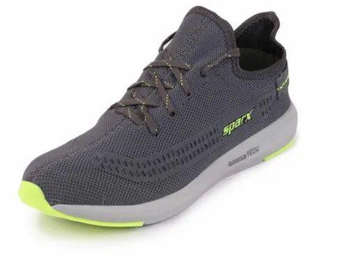 Sparx Men D.Grey N.Green Sports Running