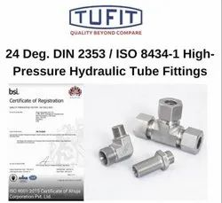 Tufit Stud Straight Coupling (L-Series)