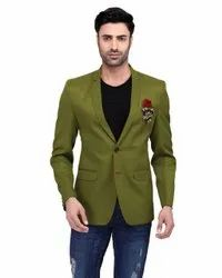 Slim Fit Cotton Blended Mens Blazers