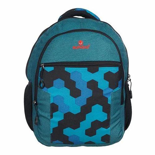 Nylon Supasac Designer School Bag
