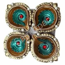 Golden Stone Diya 7092004891060