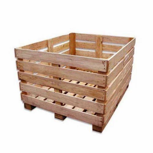 Rectangular Pine Wood Crate Rs 800 Piece Sri Manjunatha Wood Packers Id 8238522012