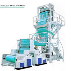 Double Layer Co- Extrusion Stretch Machine