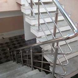 Panel and Cable Stair Case Railing