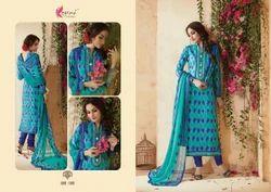 Cotton Fancy Salwar Suit
