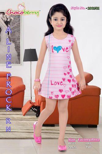7db6f8e18 Cotton Regular Wear Girls Frock