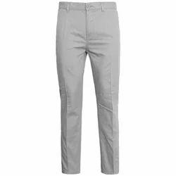 Mens Cotton Formal Trouser