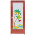 Waterproof Aluminium Door