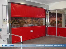PVC High Speed Roll-up Door, Interior