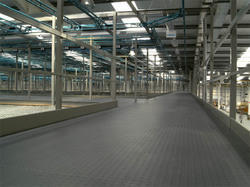 PVC Industrial Flooring