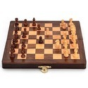 Wooden Chessboard Folding Box Wp046
