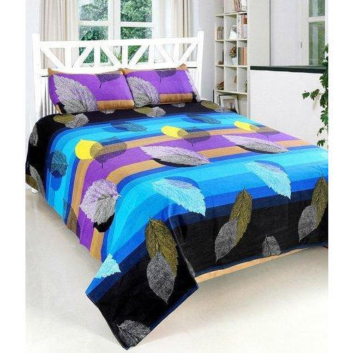 Blueday Cotton Digital Printed Bedsheet